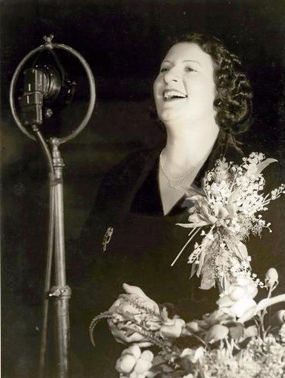 NATION'S SONGBIRD: Gladys Moncrieff memorabilia on display to celebrate her 125th birthday.