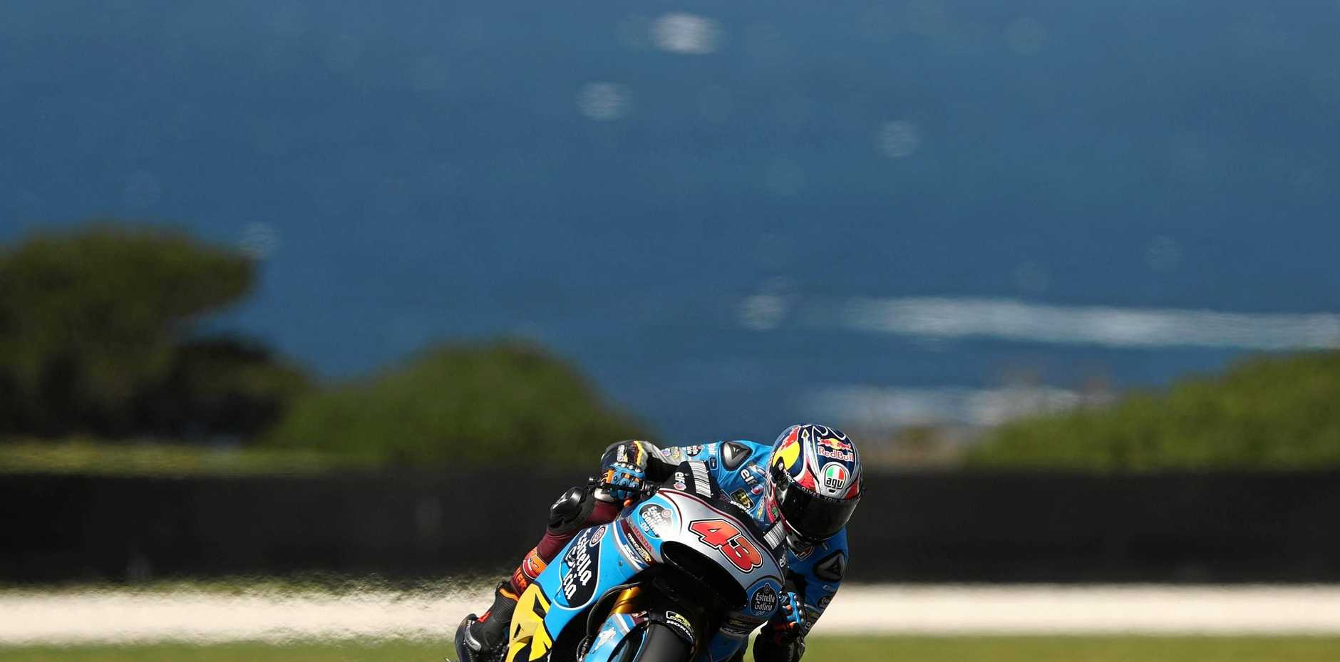 Jack Miller of Australia during practice for the 2017 Australian MotoGP at Phillip Island.