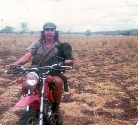 John has always had a love of motorbikes