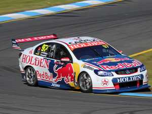 OUT TO IMPRESS: Warwick driver Matt Campbell in action in the Sandown 500..