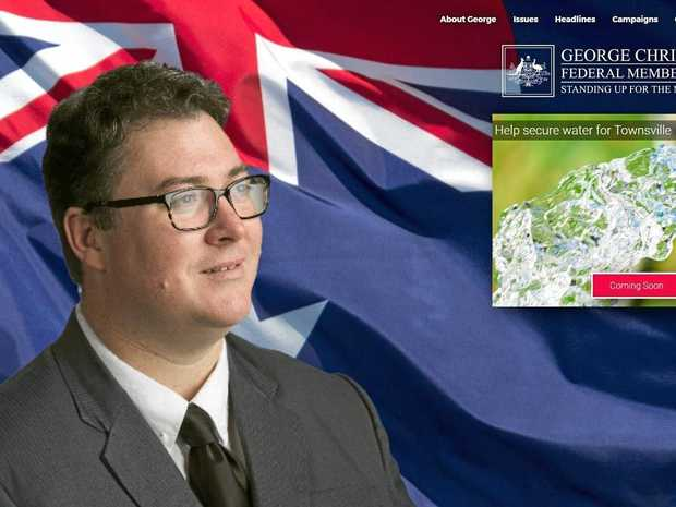 CONFUSED? The new look website at  www.georgechristensen.com.au makes no reference to his party, the Liberal National Party.