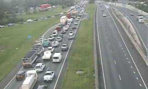 Major congestion on the Bruce Hwy caused by a multi-vehicle crash.