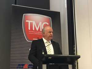 Peter Anderson speaks at the Technical Maintenance conference 2017.