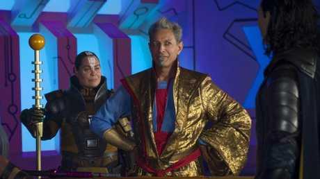 The grandmaster is peak Goldblum.