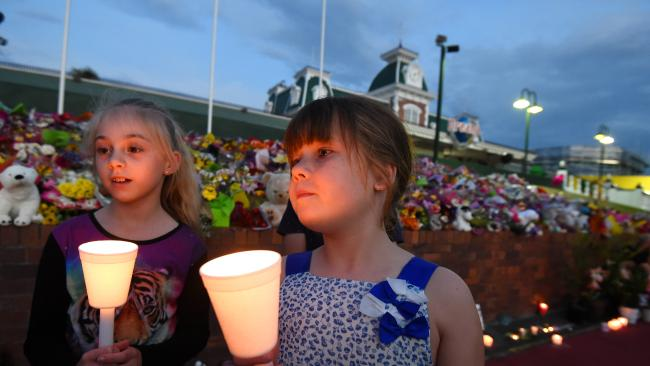 Candlelight vigils were held last year after four people were killed at Dreamworld.