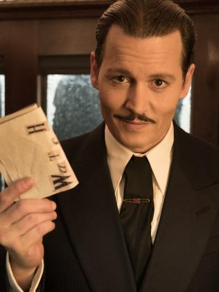 Johnny Depp's a bad return on investment which doesn't bode well for his new movie Murder on the Orient Express. Picture: Supplied
