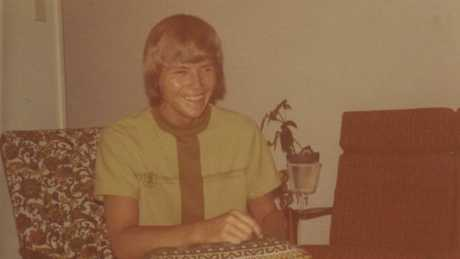 A young Kevin Rudd taken in about 1974 when he was in Grade 12 at Nambour High, having left the Catholic college.