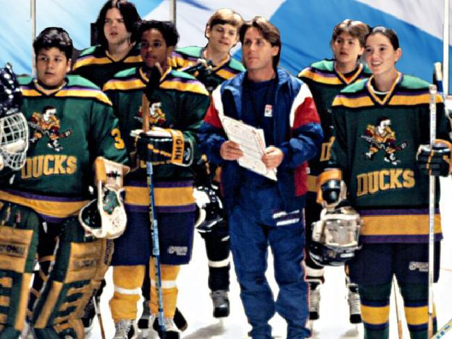 Emilio Estevez starred in the successful Mighty Ducks movies. Picture: Supplied