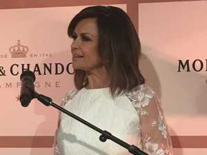 Lisa Wilkinson made her first public appearance since her shock resignation from Nine.