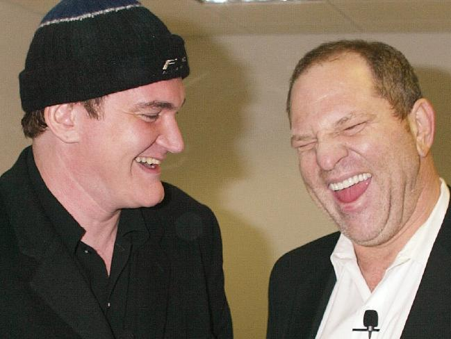 Quentin Tarantino and Harvey Weinstein were very close. Picture: Supplied