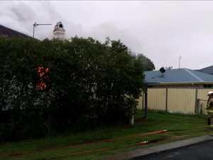 Fire engulfs Warwick home