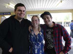 Alex Pole, Carly Cotter and Warrod Watkins at Jacarok