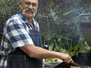 Merv Hughes cooks up a feast with his new cookbook, Barbecue, Beer and B.S.