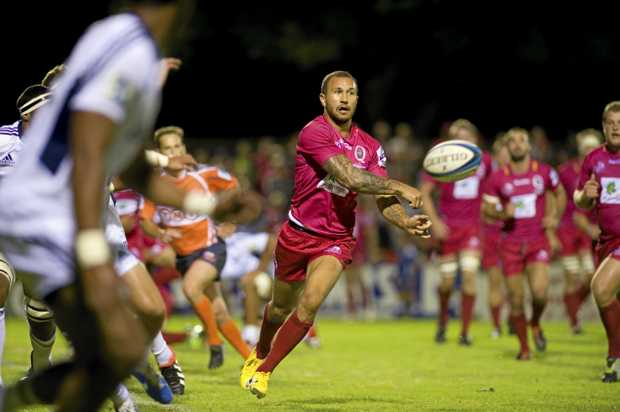 STAR POWER: Test veteran Quade Cooper will be at Casuarina with the International Barbarians on Monday.