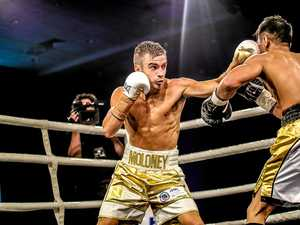 Kingscliff-based boxer Andrew Moloney is fighting for a Commonwealth title in Melbourne, in what will be the biggest fight of his fledgling career.