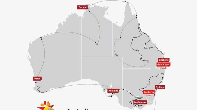 Follow Queen's Baton Relay live: Where to watch in Mackay