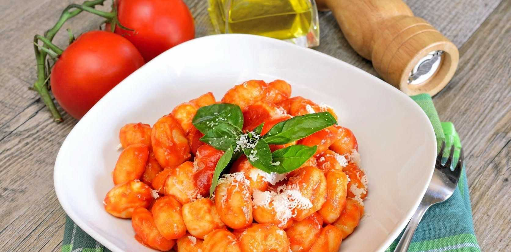 Light-as air-gnocchi are made easily with ricotta; serve with your favourite pasta sauce.