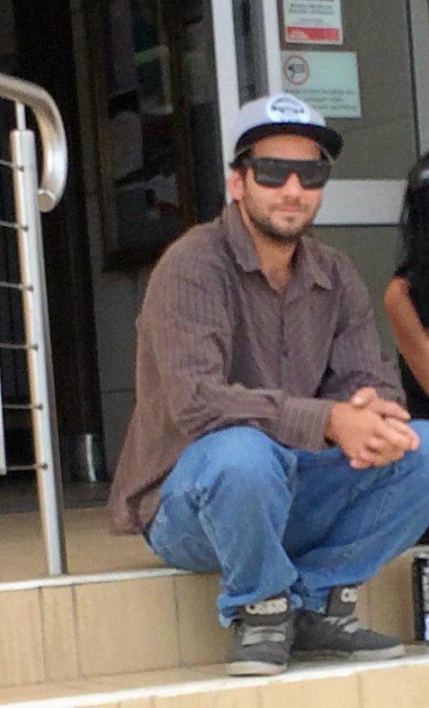 SENTENCED: Brett Bayldon outside court.