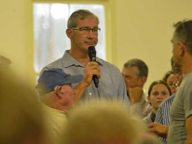 Gympie mayor, Mick Curran.