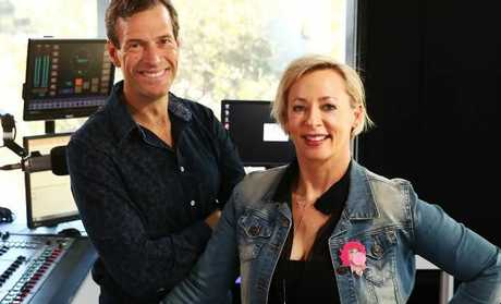 WSFM radio host Amanda Keller is said to be getting paid more than her colleague Brendan Jones. Picture: John Feder/The Australian