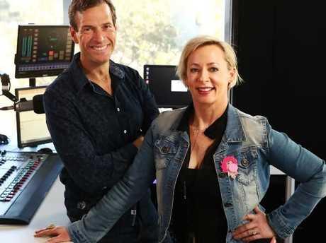 WSFM radio host Amanda Keller is said to be getting paid more than her colleague Brendan Jones. Picture: John Feder/The Australian