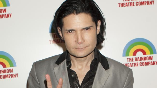 Corey Feldman says he is working on a plan to out his abusers. Picture: Supplied