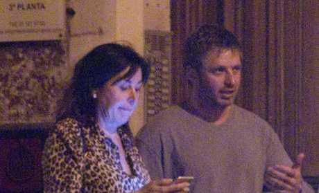 Carmen Martinez Bordiu and Australian boyfriend, Timothy McKeague are the talk of Spain. Picture: Media Mode