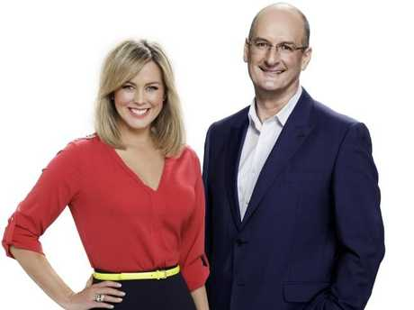 Sam Armytage reportedly gets paid half what her Sunrise co-host David Koch gets.
