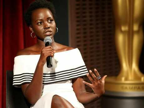Lupita Nyong'o is a rising star in Hollywood. Picture: Robin Marchant/Getty Images