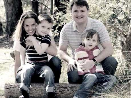 Fernando Manrique with his wife Maria Lutz and their children Martin and Elise.