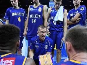Bullets coach gives troops both barrels