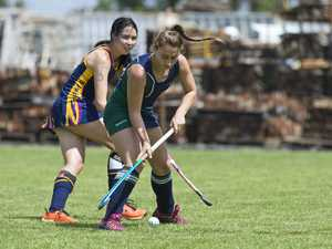 Bryanna McGowan (left) of St Joseph's College and