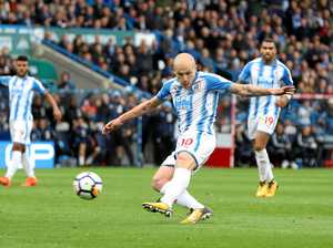 Mourinho miffed as Mooy leads Terriers to historic win