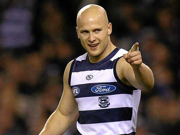 Gary Ablett is back at Geelong after being traded by the Suns.