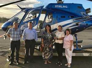 Lauga and Joyce clashing over NAIF funding reaching CQ