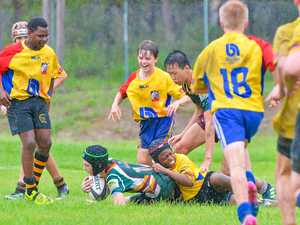 Super Saturday of slippery rugby for Gruflets