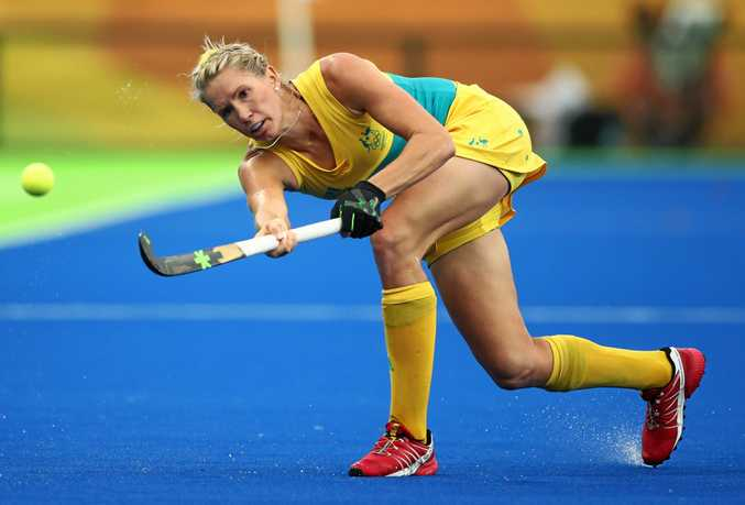 BACK ON TRACK: After a year off from hockey, Jodie Kenny is back and fighting for a spot in the Hockeyroos squad.