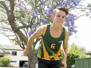 INJURY BEATEN: North Coast speedster Grayson Reimer has earned a spot in the PSSA National Athletics Championships in Adelaide at the end of the year.