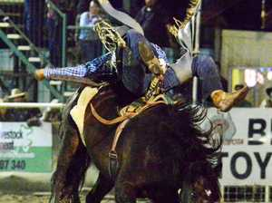 The excitement that is bareback bronco riding