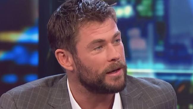 Hemsworth snaps at TV presenter for 'Thor: Ragnarok' spoiler. Picture: YouTube.