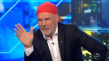 Peter FitzSimons is asked about wife Lisa Wilkinson on The Project.