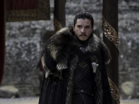 "Kit Harington as Jon Snow in Game of Thrones, said he ""cried"" when he read the final script for the hit show. Picture: Supplied"