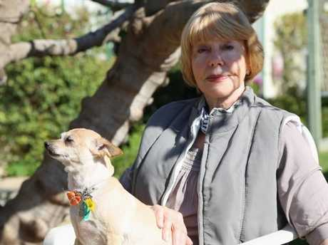 Carmel, the owner and madam at Australia's oldest brothel. Picture: Supplied