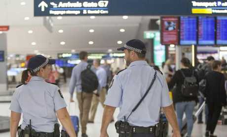 An Australian Federal Police officer told Ginger people die on planes 'all the time'. Picture: AFP