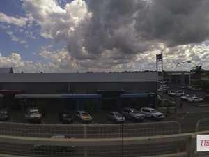 Time lapse over Rockhampton
