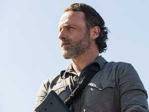 Andrew Lincoln as Rick Grimes in a scene from the season 8 premiere of The Walking Dead. Supplied by Foxtel.