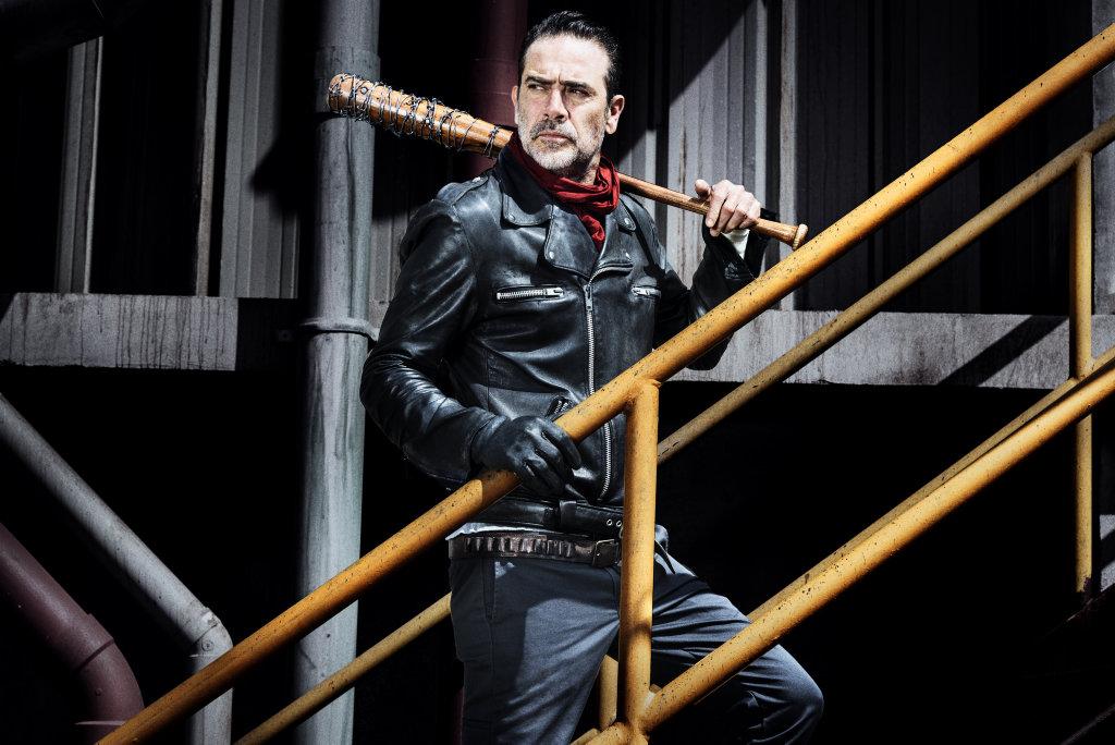 Jeffrey Dean Morgan returns as Negan in season eight of The Walking Dead.