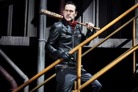 Jeffrey Dean Morgan returns as Negan in season eight of The Walking Dead.