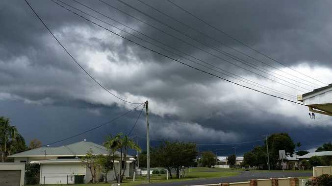 Belinda Scott took this photo of storm clouds at Casino.