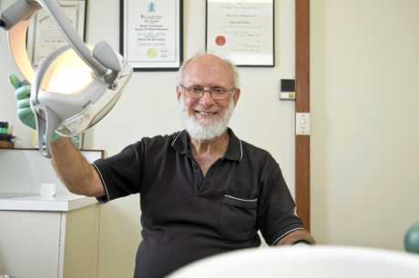 Dr David Mullins is set to retire and close his Margaret St practice David Mullins Orthodontist, Monday, October 16, 2017.